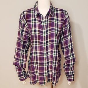 American Living Button Down Blouse